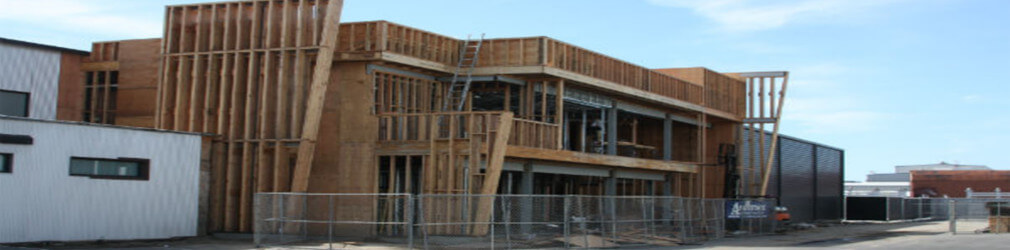 Commercial Building Framing
